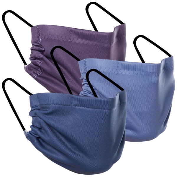Shades of Purple - Three Pack Fabric Face Mask
