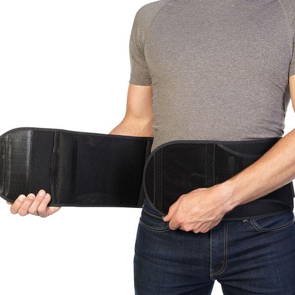 Adjustable support back brace