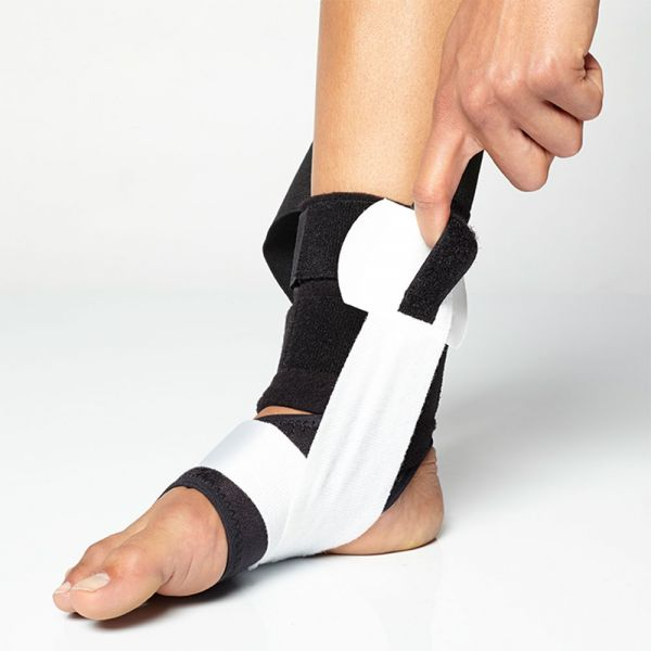 Ankle brace for medial support