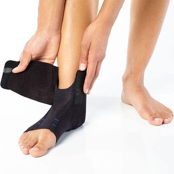 Ankle brace compression