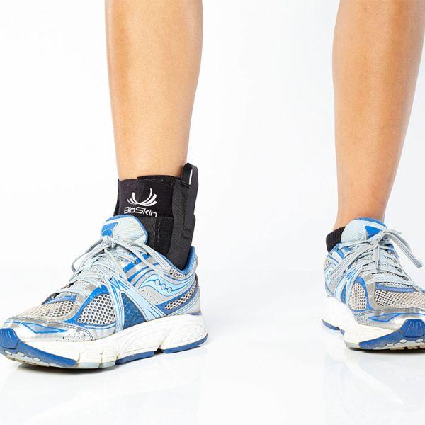 Ankle brace compression sleeve