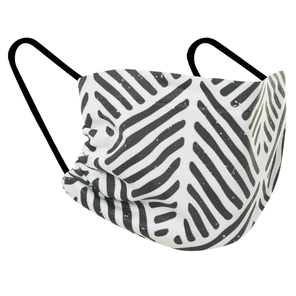 Black and White - Three Pack Fabric Face Mask