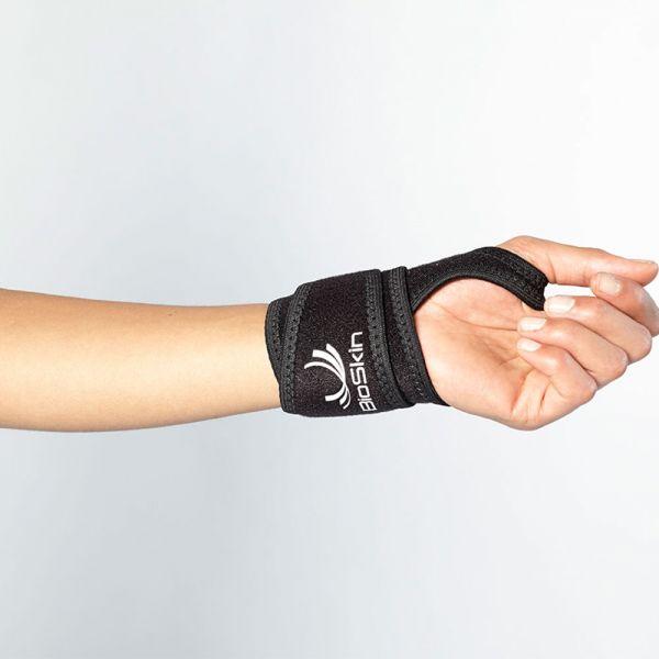 Compression wrap for wrist pain