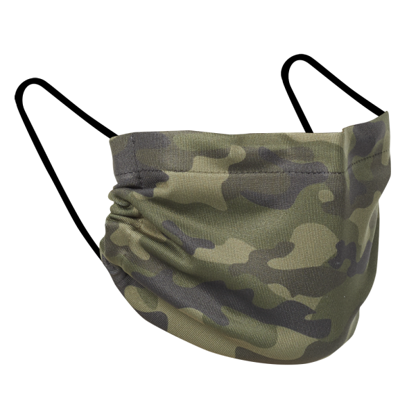 Camo - Three Pack Fabric Face Mask