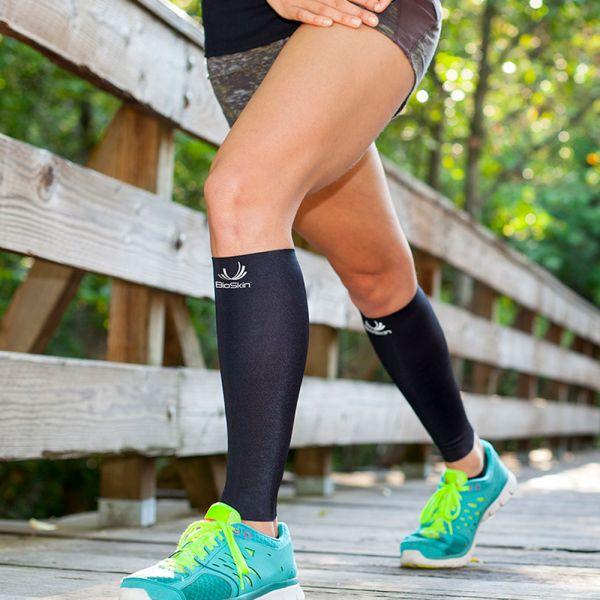 Medical grade compression sleeve for shin splints