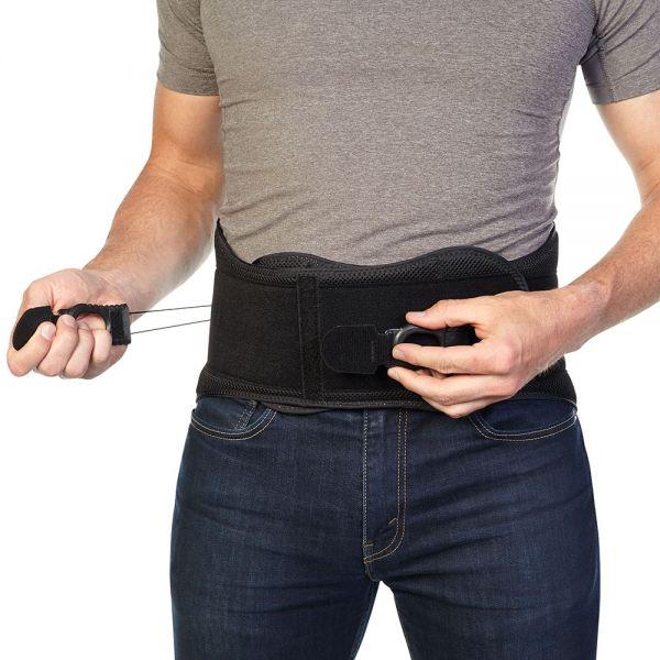 Compression back brace