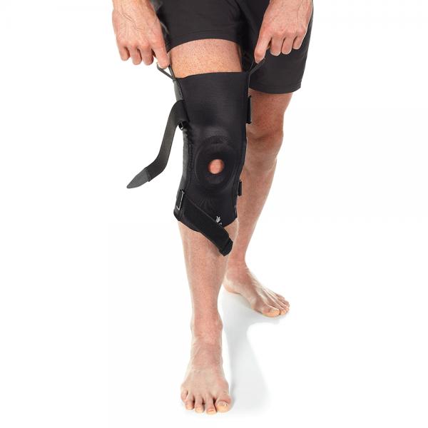 hinged knee brace for knee pain