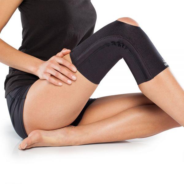 Medical grade compression knee sleeve