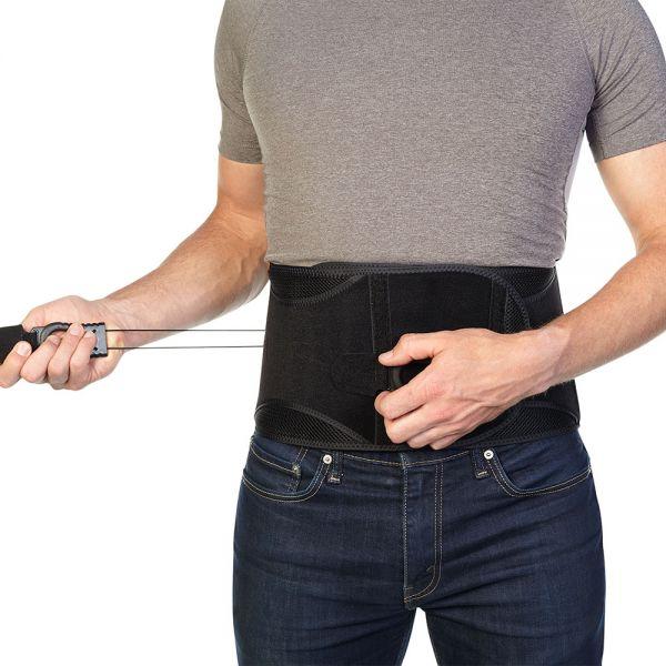 Back brace for chronic back pain