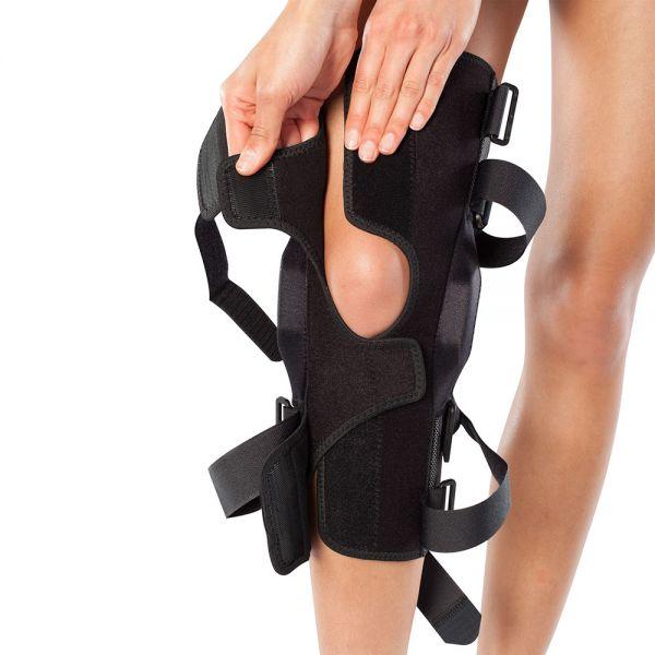 Wraparound meniscus tear brace
