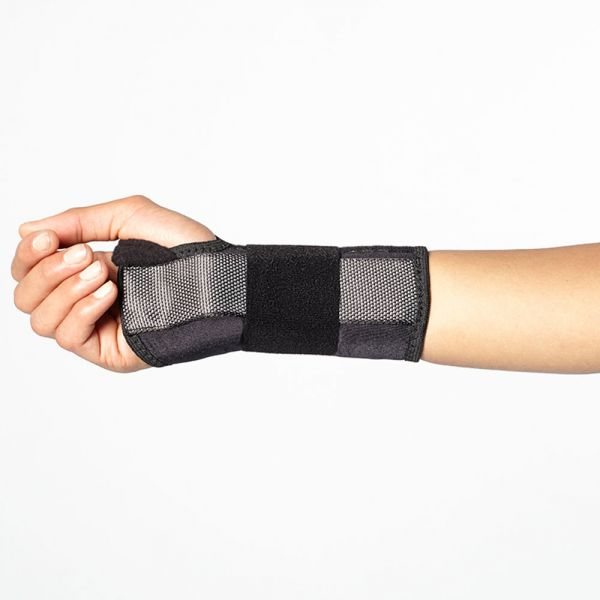 Wrist brace for carpal tunnel syndrome