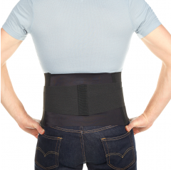 Back wrap with pad